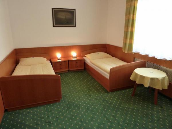 pokoj v nové části hotelu