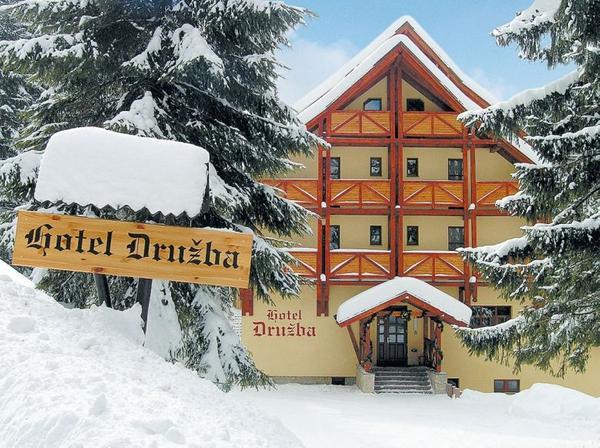 Hotel Družba - zima
